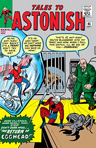 Tales to Astonish (1959-1968) #45