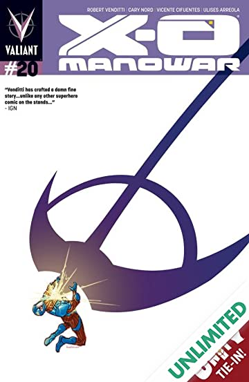 X-O Manowar (2012- ) #20: Digital Exclusives Edition
