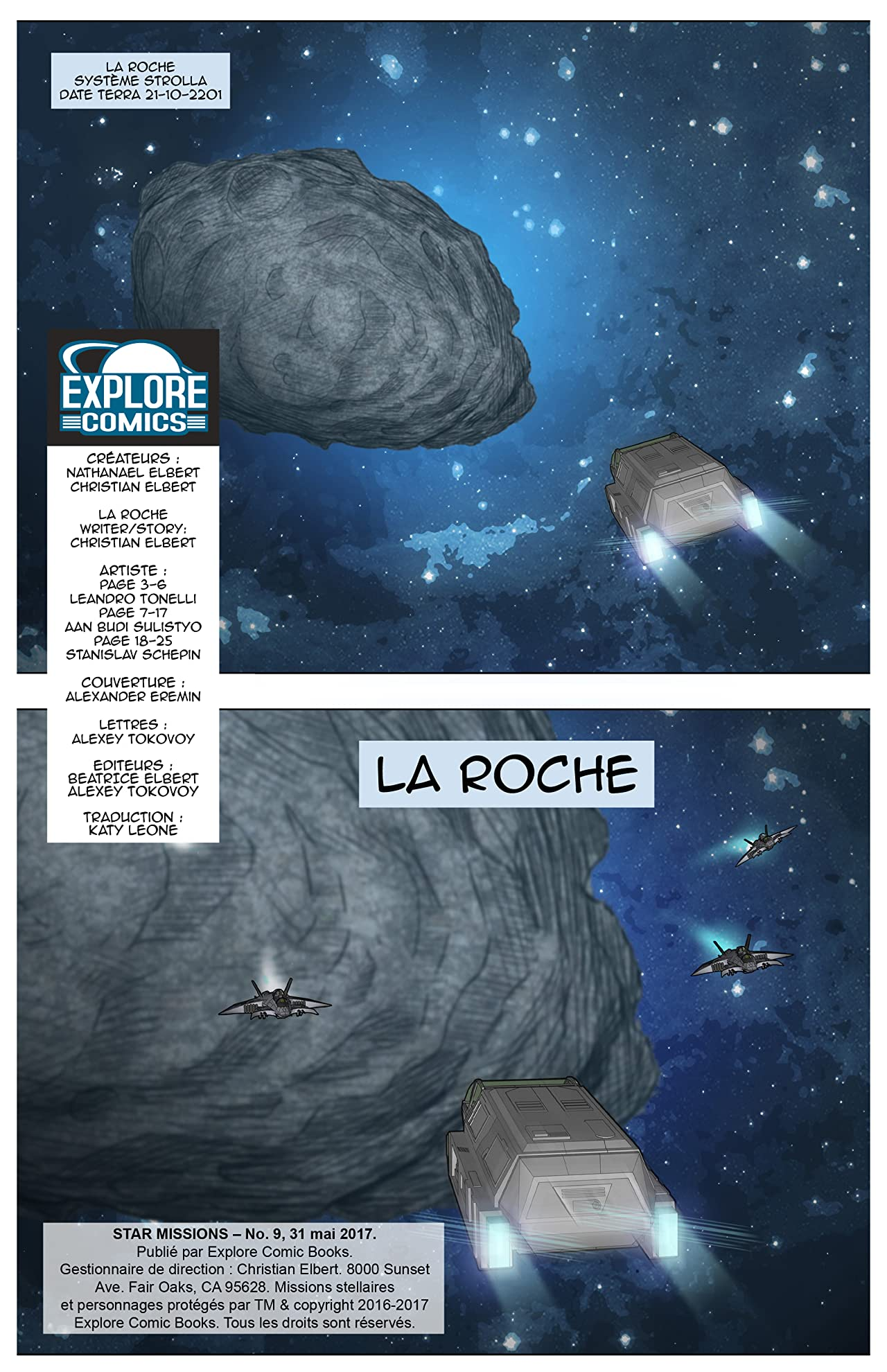 Star Missions - French #9