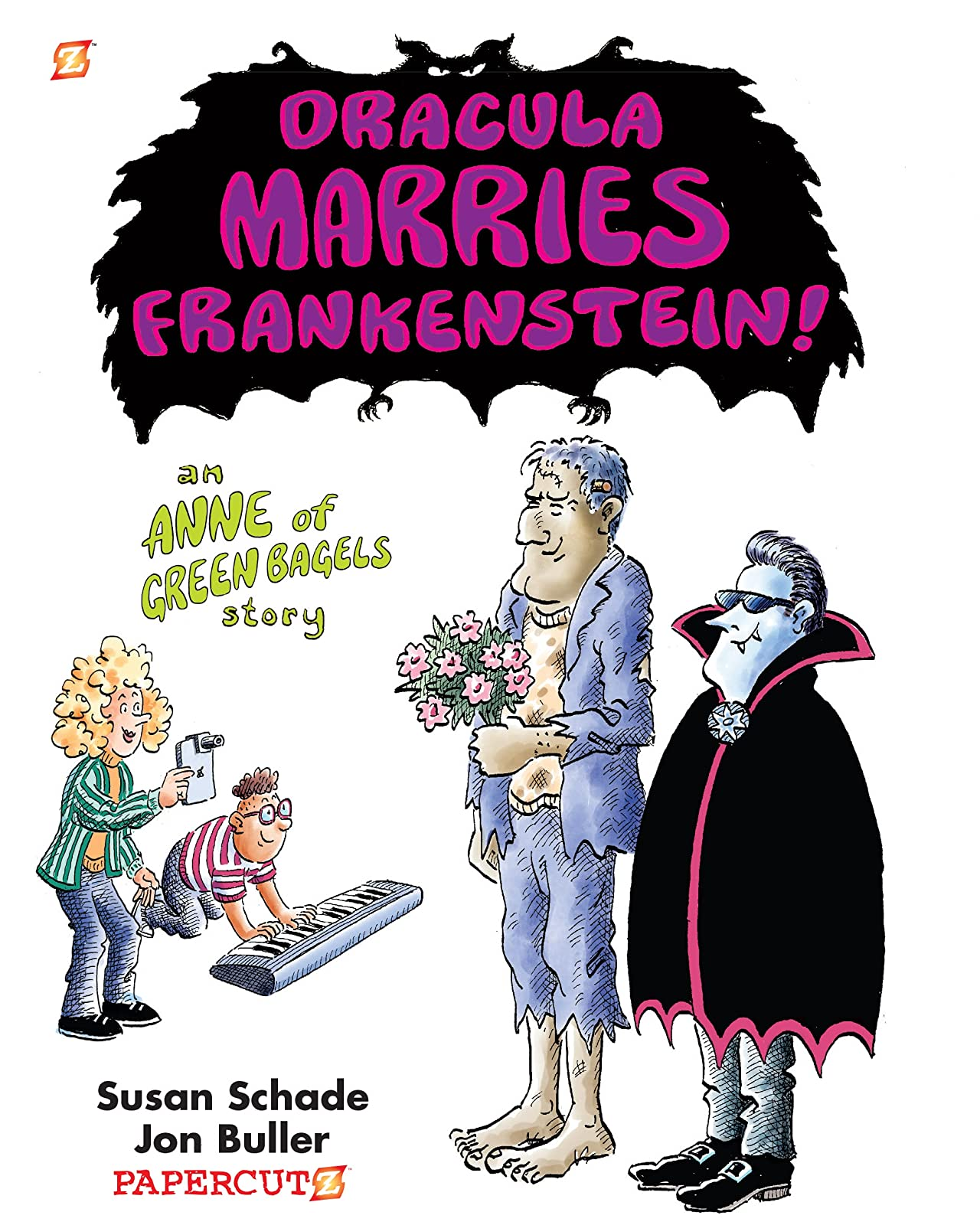 Dracula Marries Frankenstein!