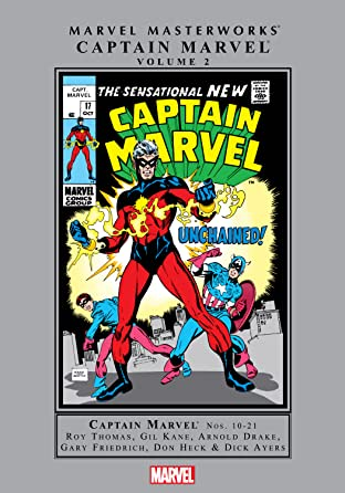 Captain Marvel Masterworks Tome 2