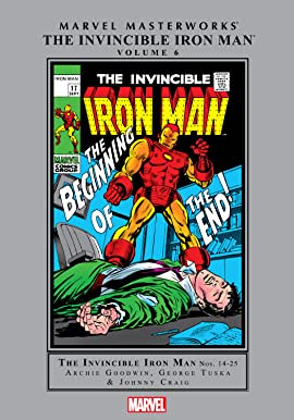 Iron Man Masterworks Vol. 6