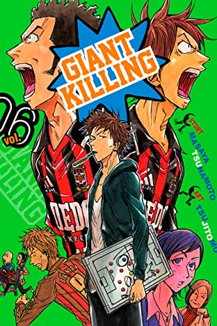 Giant Killing Vol. 6