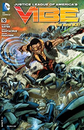 Justice League of America's Vibe (2013) #10