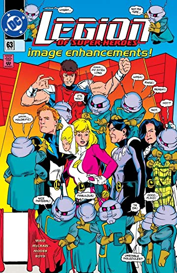 Legion of Super-Heroes (1989-2000) #63