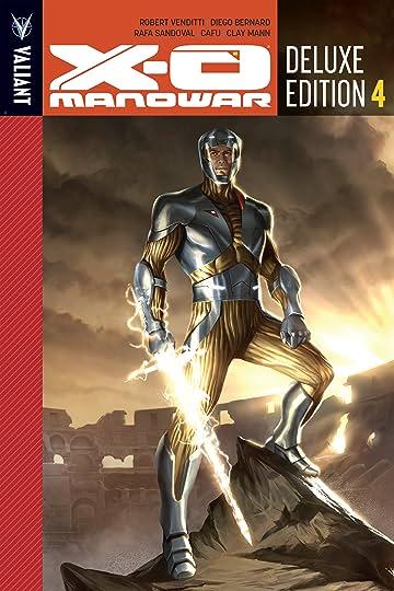 X-O Manowar Deluxe Edition Book 4