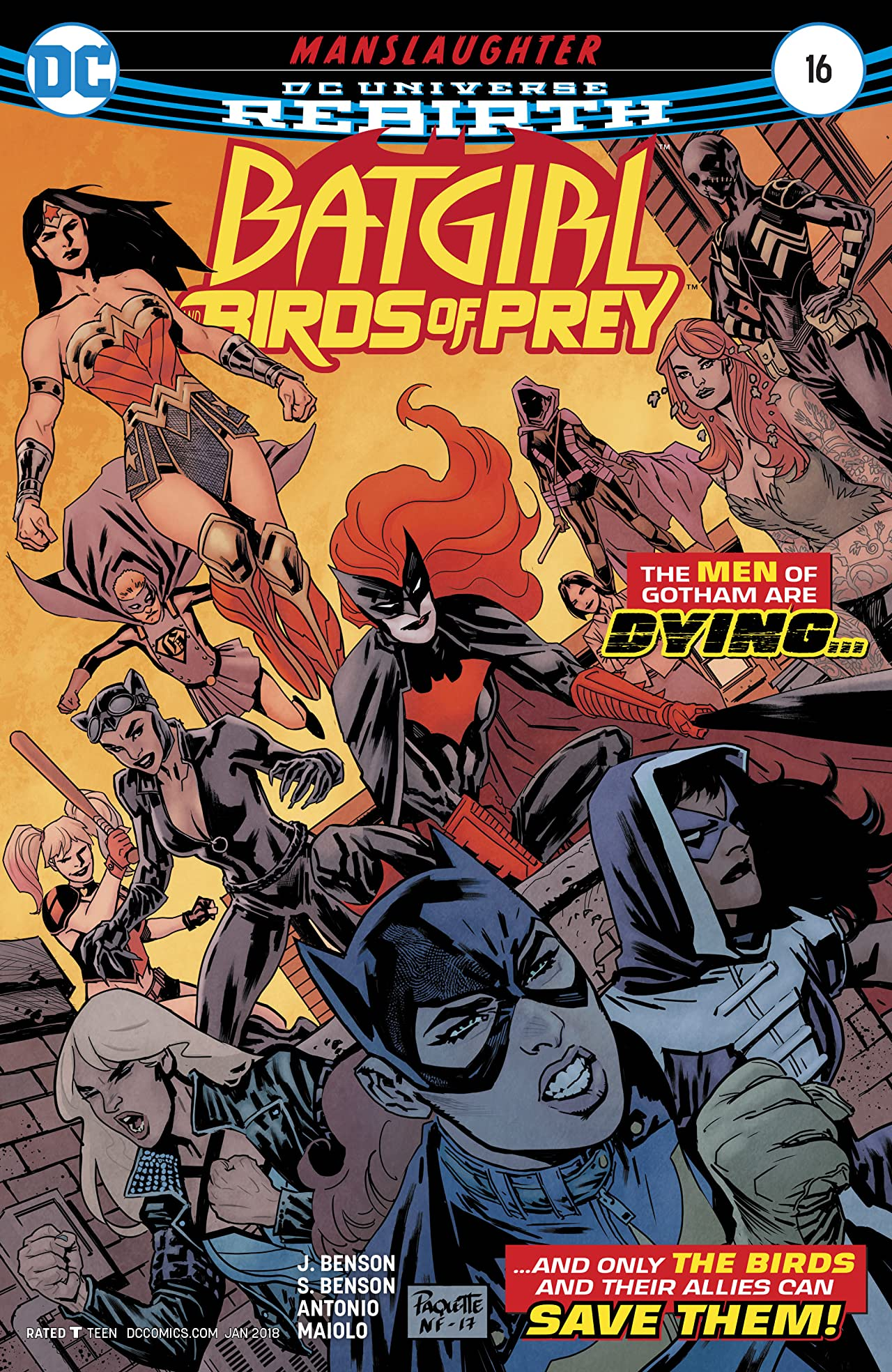 Batgirl and the Birds of Prey (2016-) #16