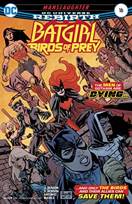 Batgirl and the Birds of Prey (2016-2018) No.16