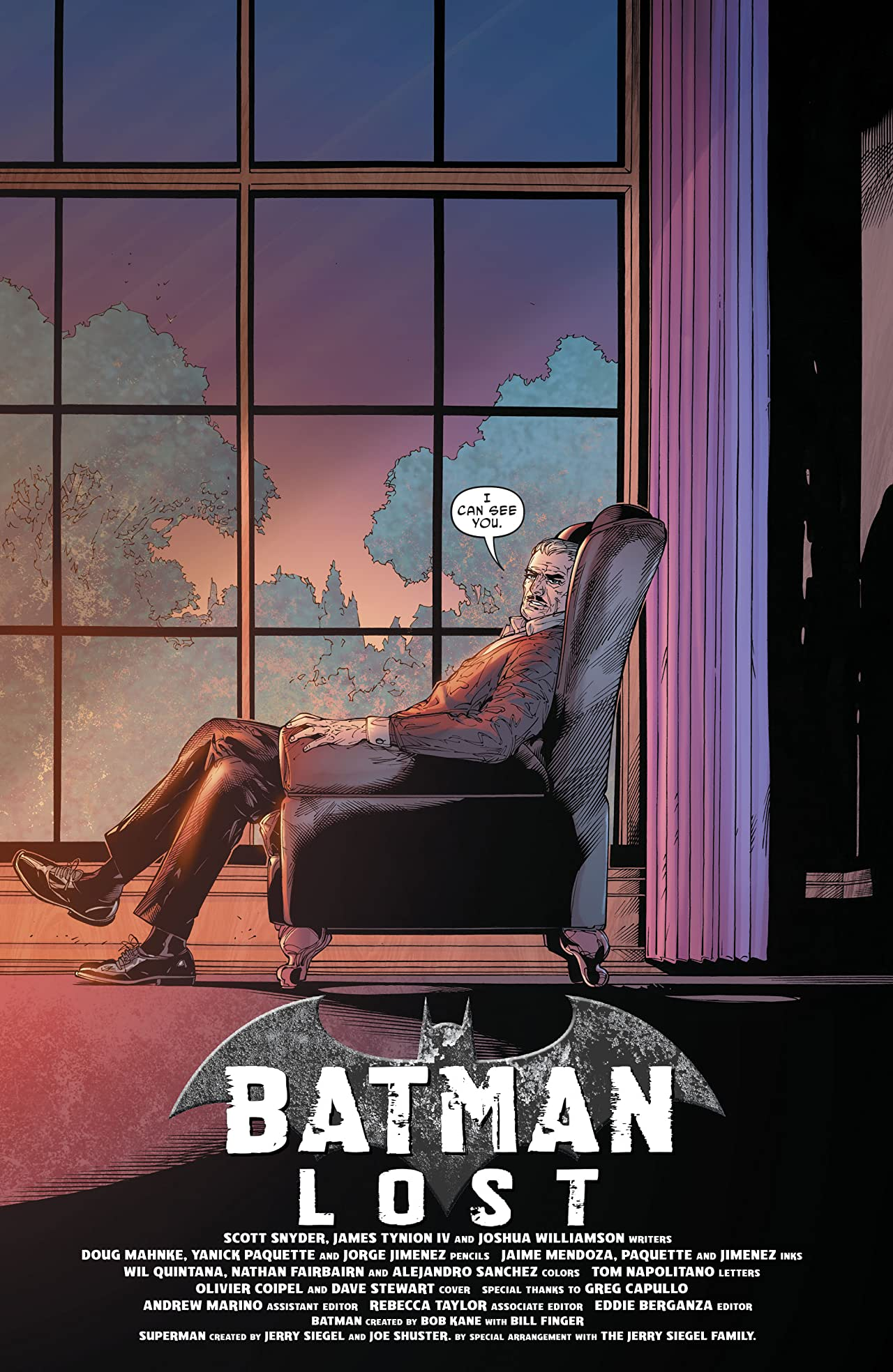 Batman: Lost (2017-) #1