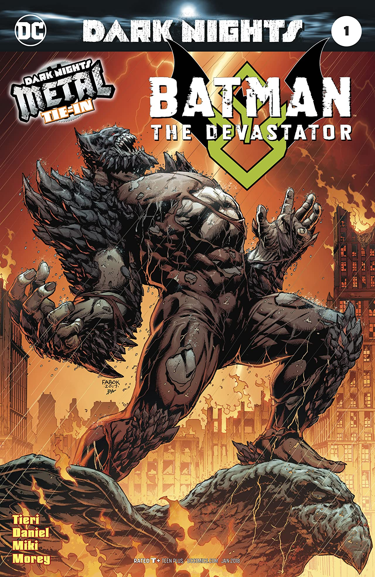 Batman: The Devastator (2017) #1