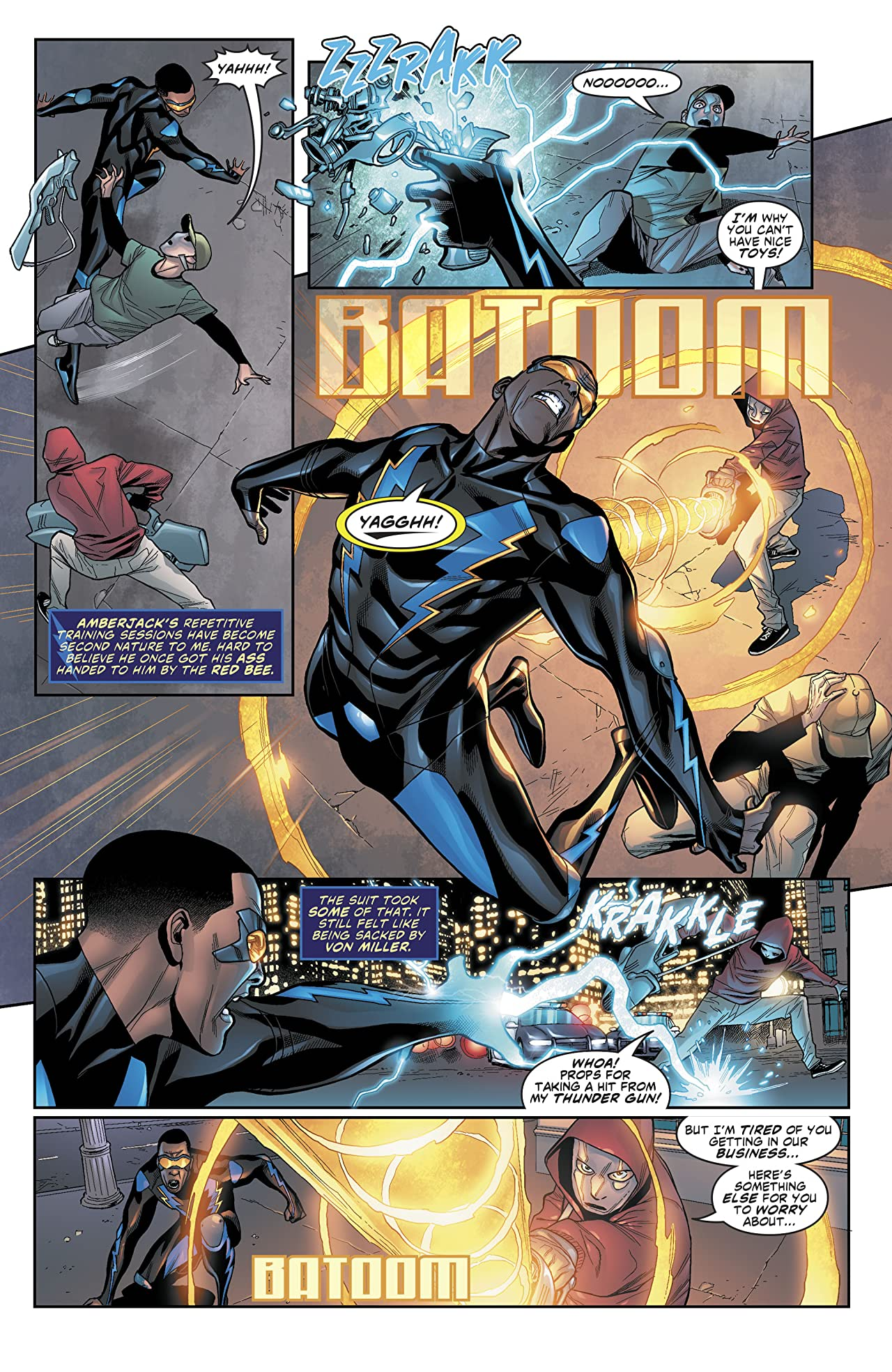 Black Lightning: Cold Dead Hands (2017-) #1