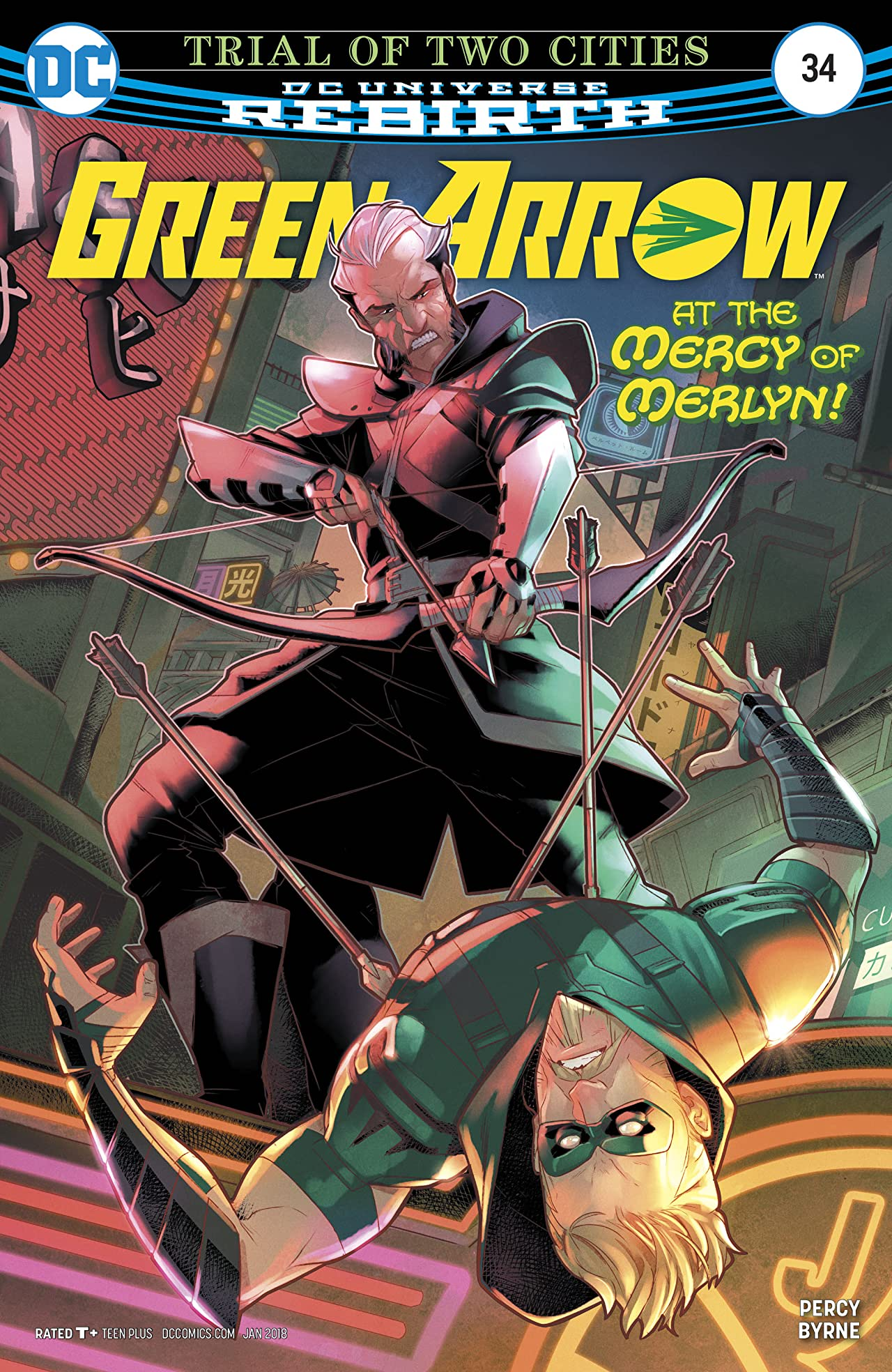 Green Arrow (2016-) #34