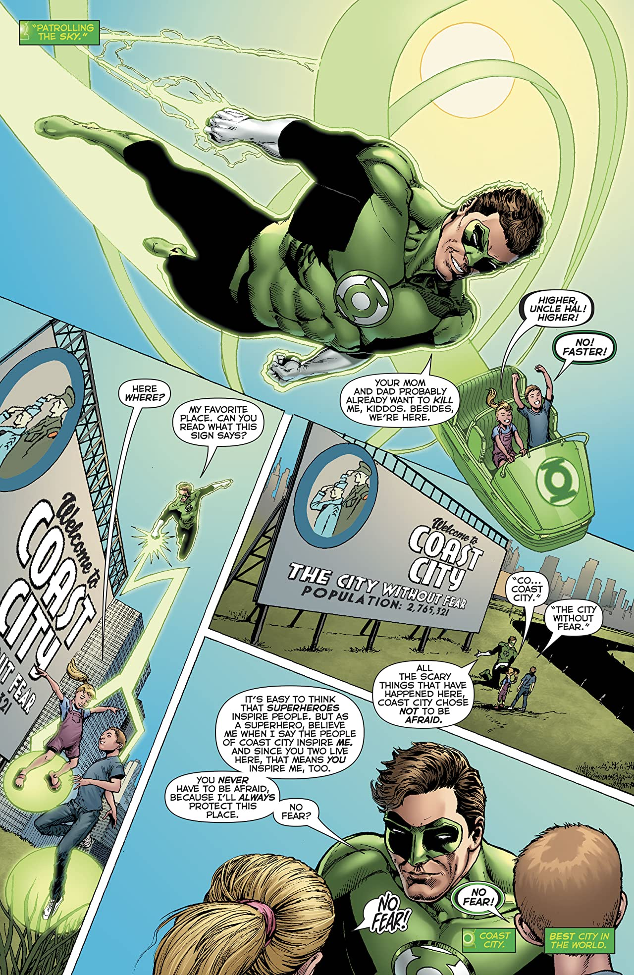 Hal Jordan and The Green Lantern Corps (2016-) #32