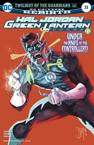 Hal Jordan and the Green Lantern Corps (2016-2018) #33