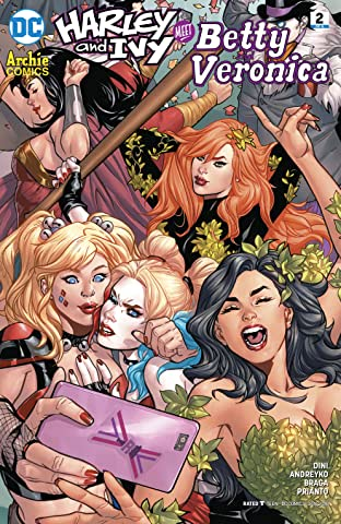 Harley & Ivy Meet Betty and Veronica (2017-2018) #2