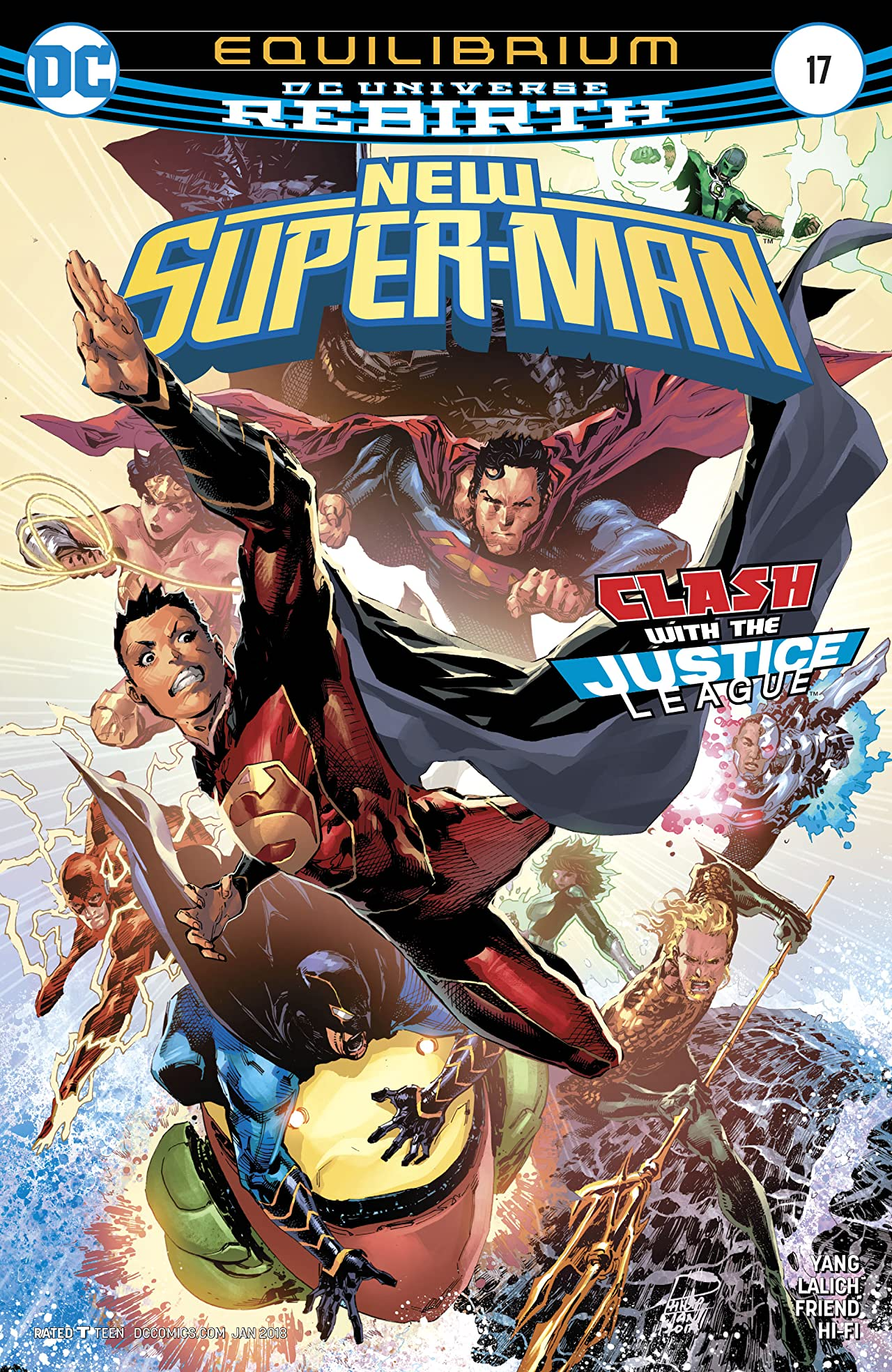New Super-Man (2016-) #17