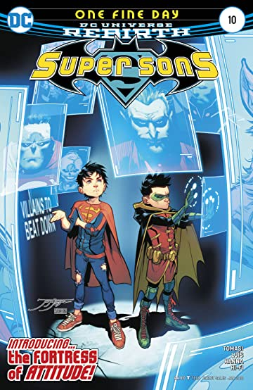 Super Sons (2017-) #10