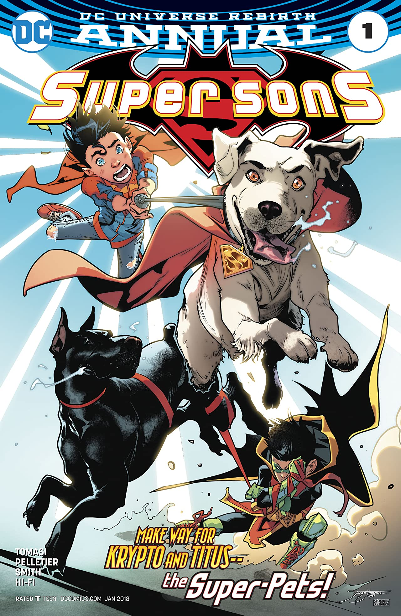 Super Sons (2017-) Annual #1