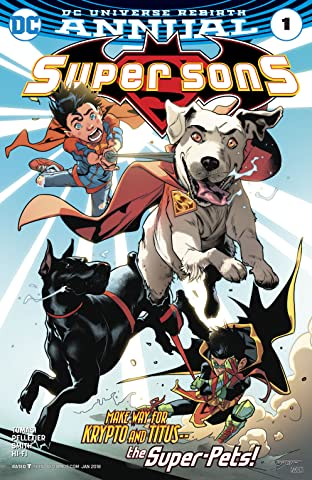 Super Sons (2017-2018) Annual #1