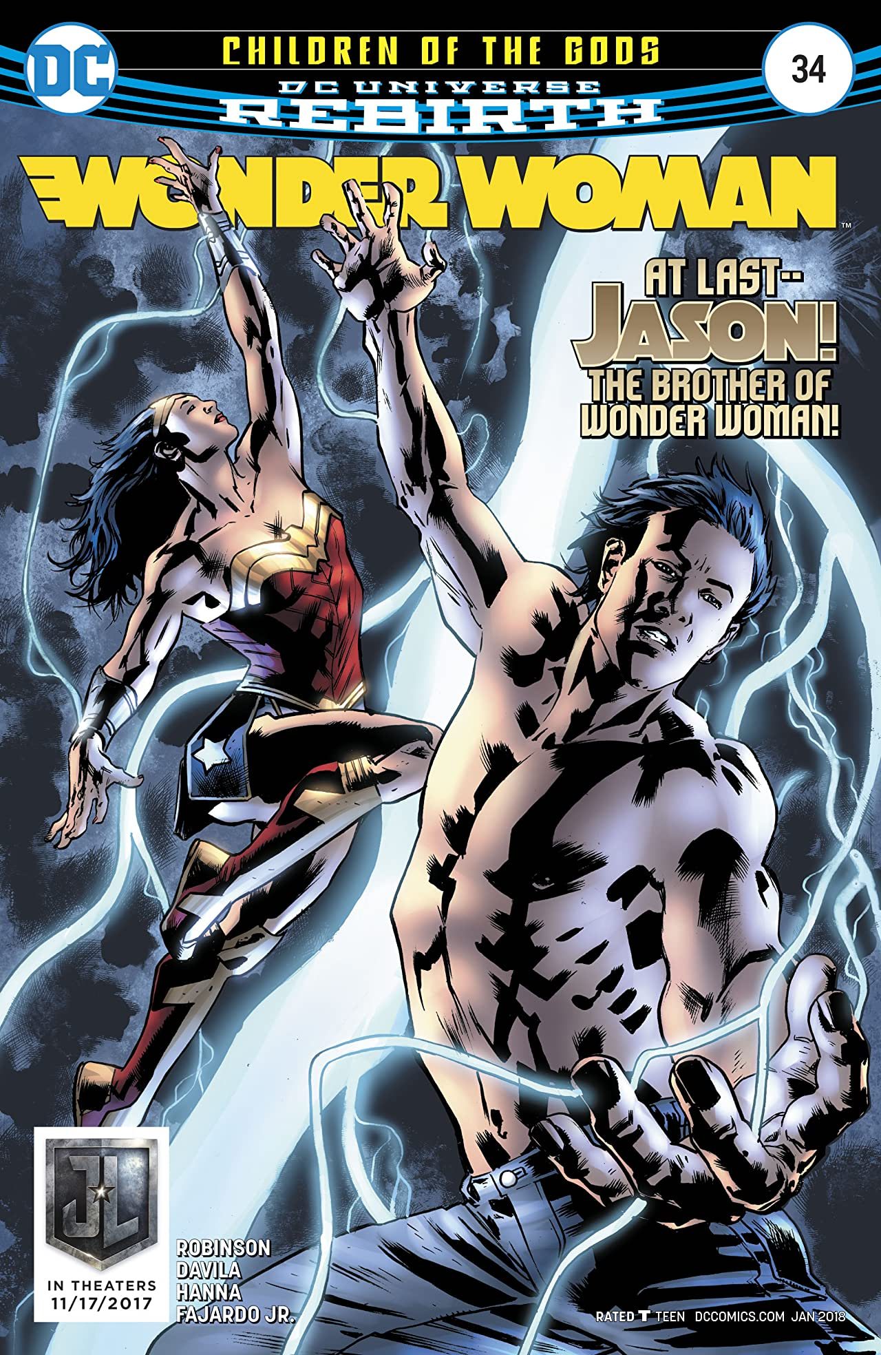 Wonder Woman (2016-) No.34