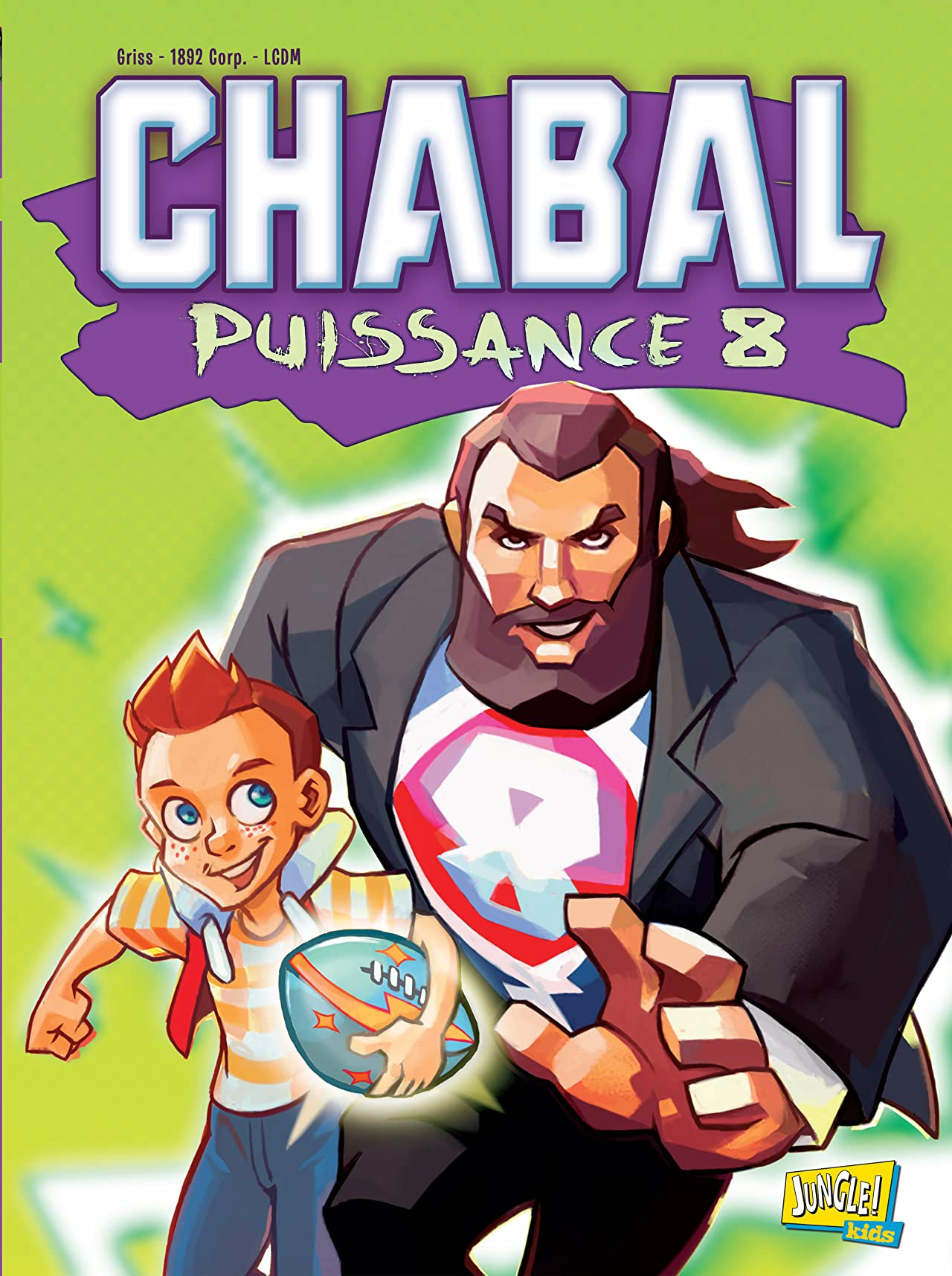 Chabal puissance 8 Vol. 1