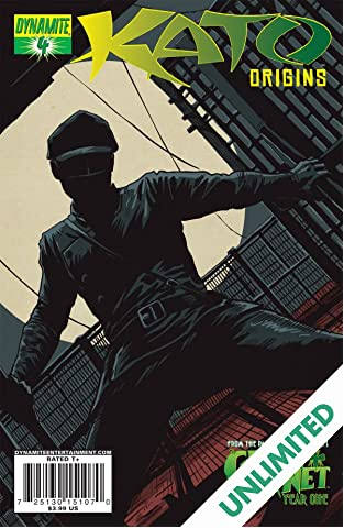 Kato Origins: Way of the Ninja #4