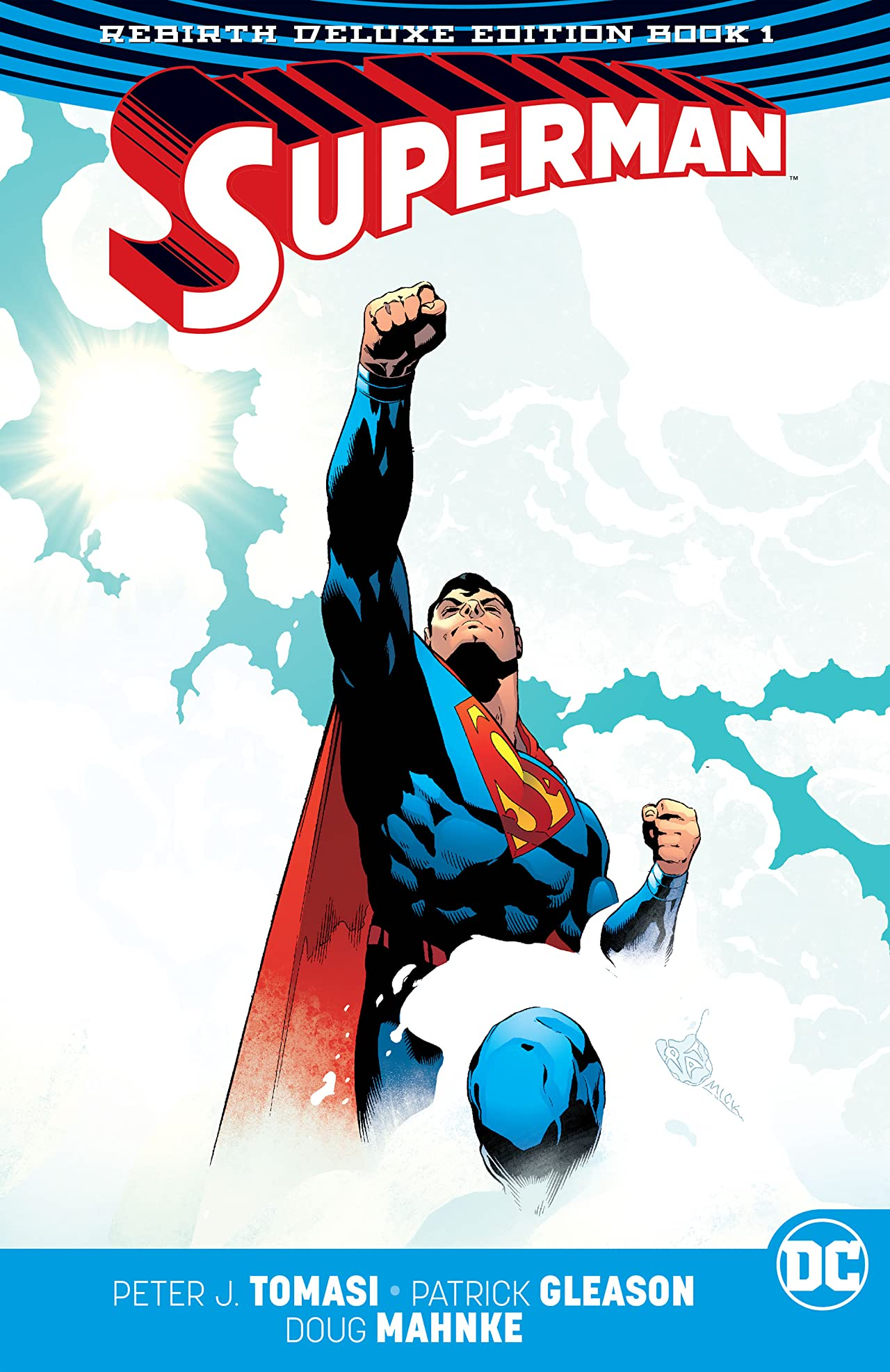 Superman (2016-2018): The Rebirth - Deluxe Edition: Book 1