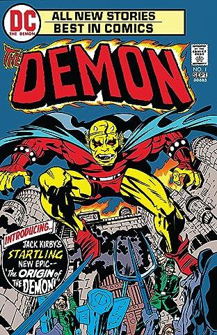 The Demon (1972-1974) No.1