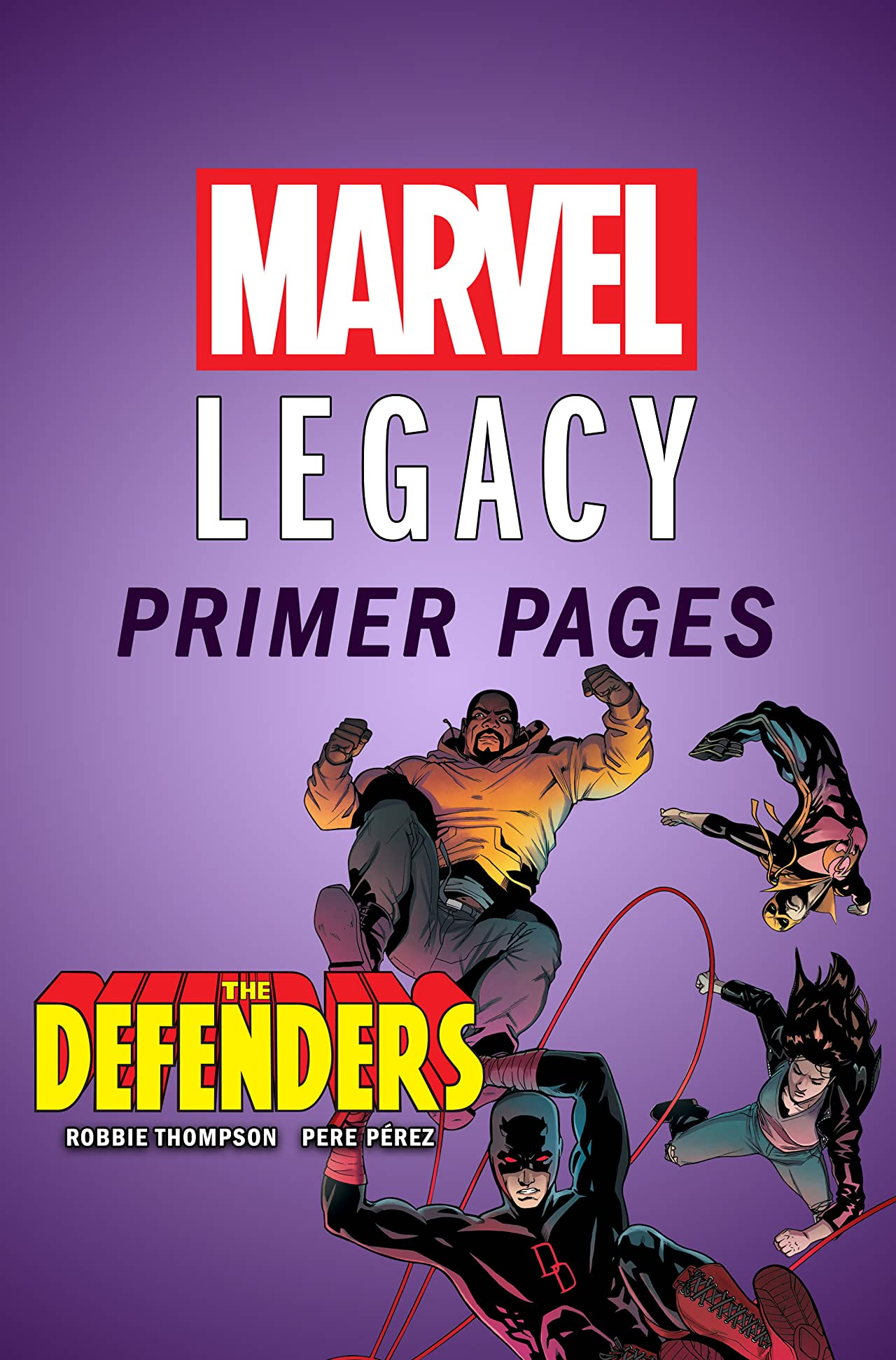 Defenders - Marvel Legacy Primer Pages