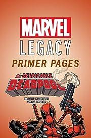 Despicable Deadpool - Marvel Legacy Primer Pages