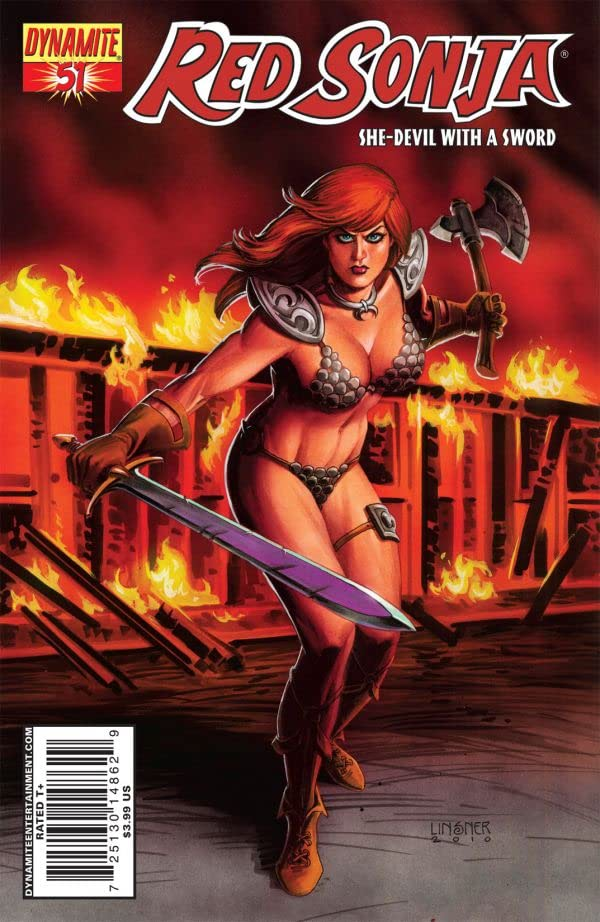 Red Sonja: She-Devil With a Sword #51