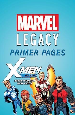 X-Men Blue - Marvel Legacy Primer Pages