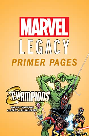 Champions - Marvel Legacy Primer Pages