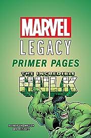 Incredible Hulk - Marvel Legacy Primer Pages