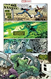 Incredible Hulk - Marvel Legacy Primer Pages