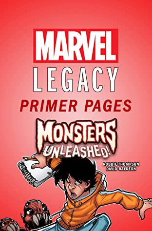 Monsters Unleashed - Marvel Legacy Primer Pages