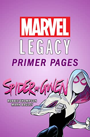 Spider-Gwen - Marvel Legacy Primer Pages