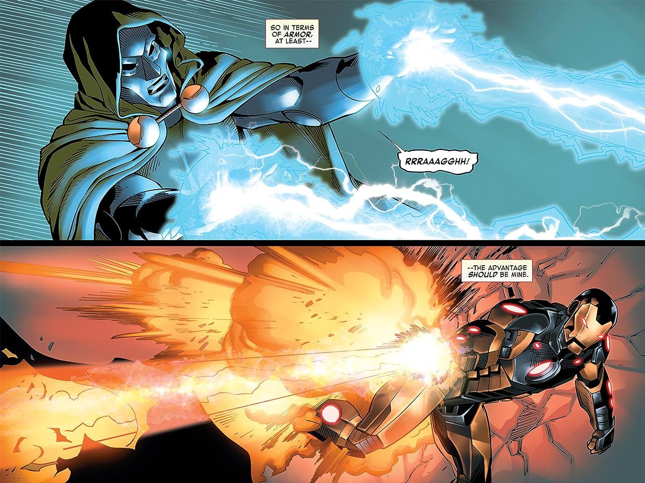 Iron Man: Fatal Frontier Infinite Comic #10
