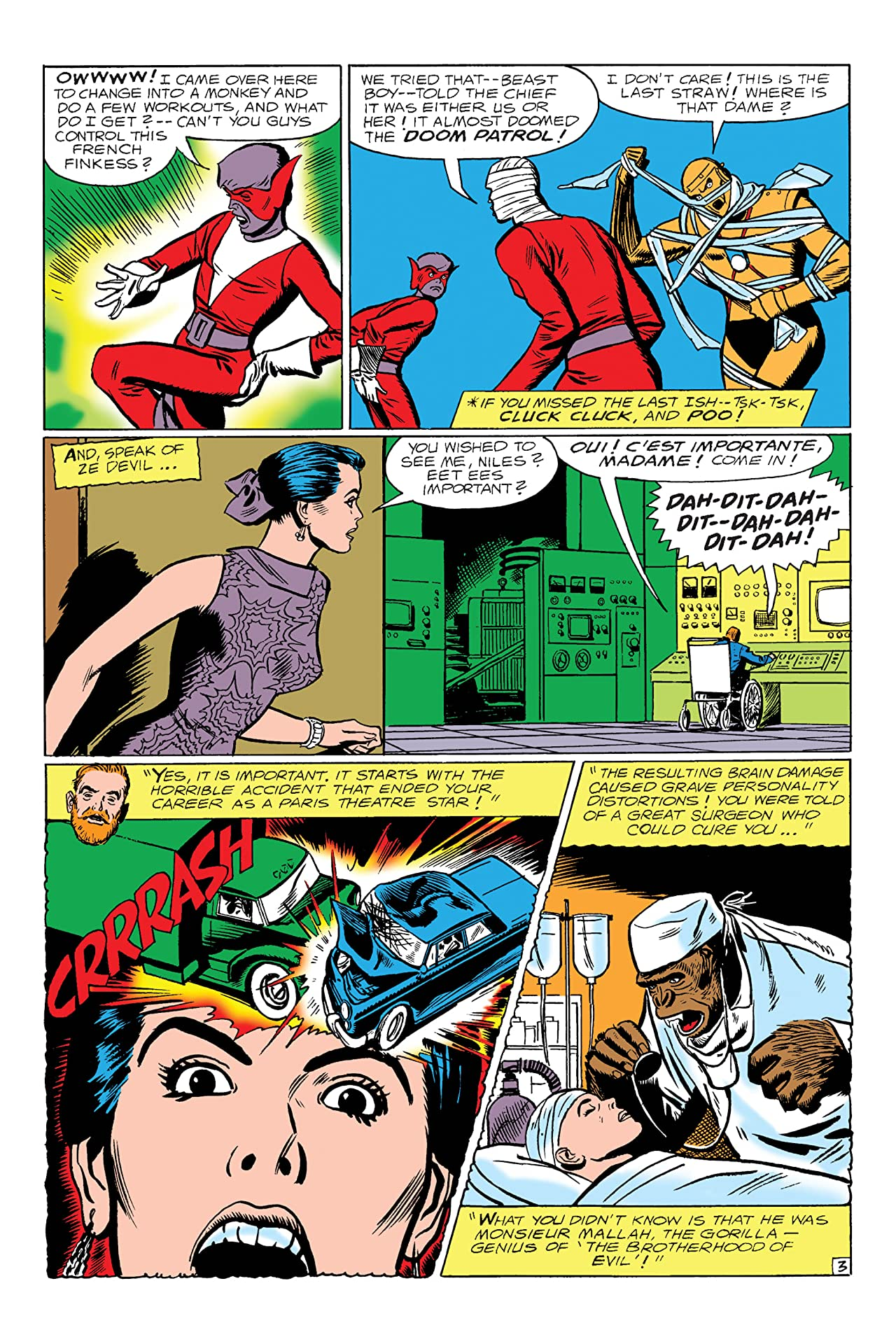 Doom Patrol (1964-1968) #118
