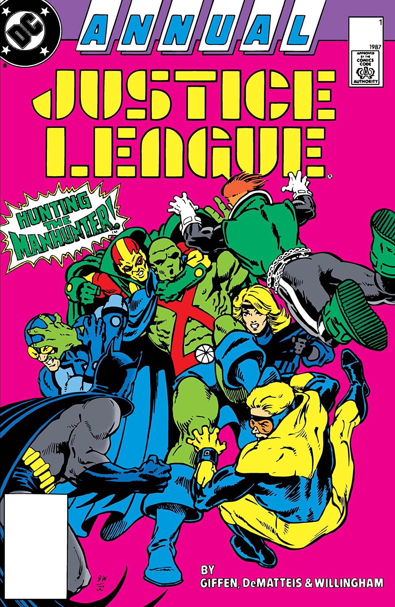 Justice League International (1987-1989) Annual #1
