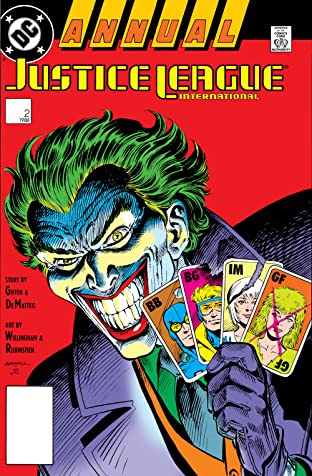 Justice League International (1987-1989) Annual #2