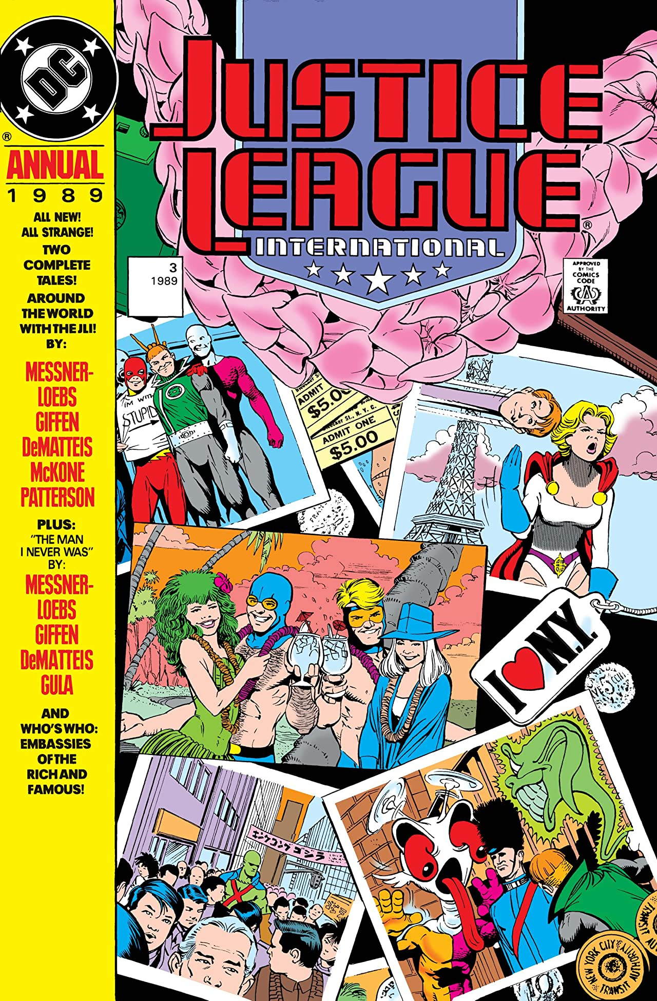 Justice League International (1987-1989) Annual #3