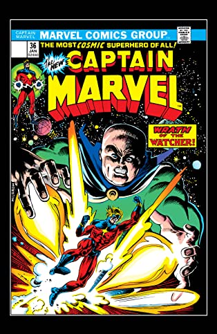 Captain Marvel (1968-1979) #36