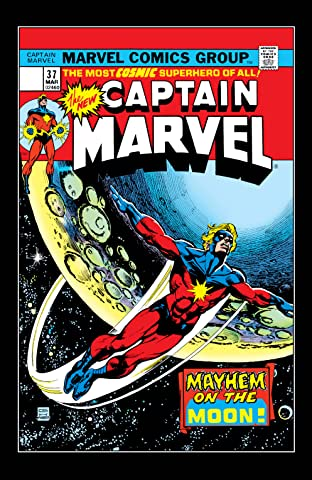 Captain Marvel (1968-1979) #37
