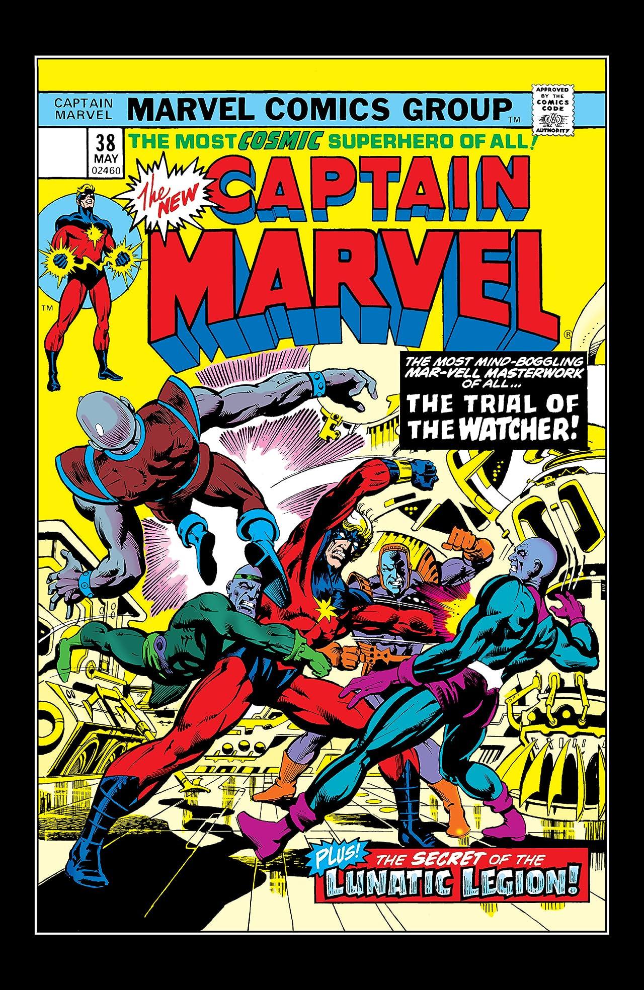 Captain Marvel (1968-1979) #38