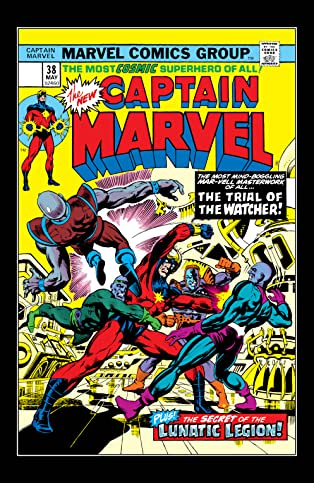 Captain Marvel (1968-1979) #38