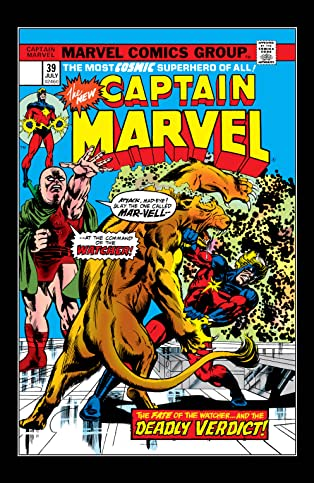 Captain Marvel (1968-1979) #39