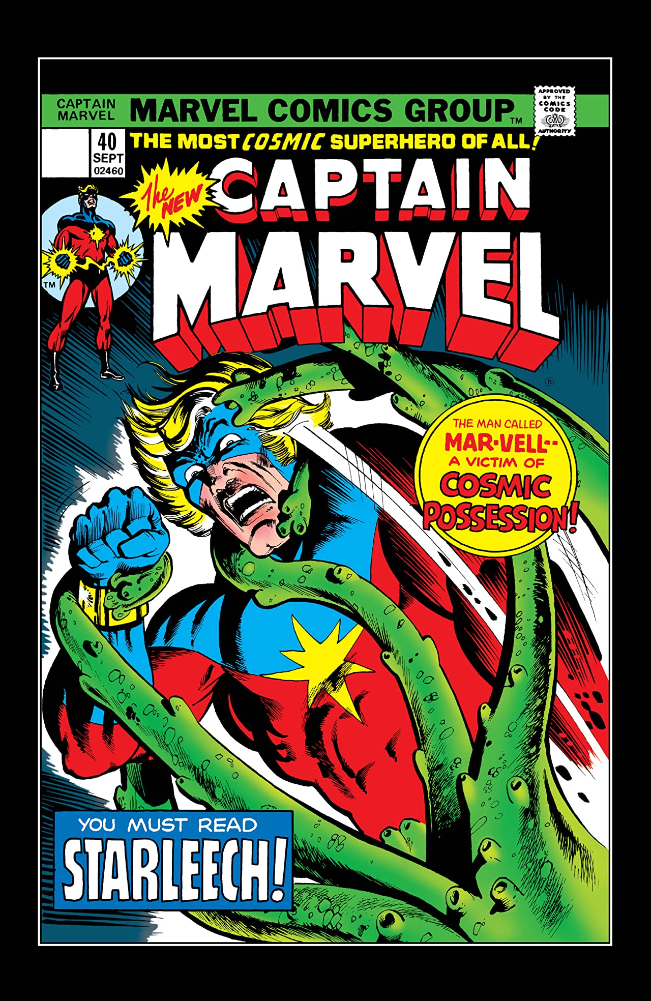 Captain Marvel (1968-1979) #40