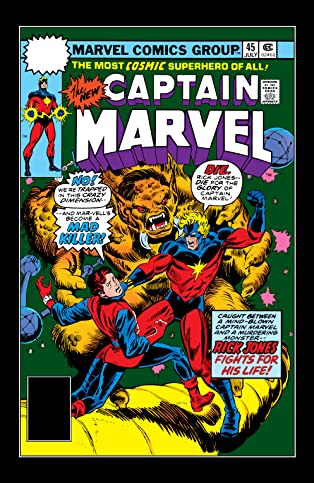 Captain Marvel (1968-1979) #45