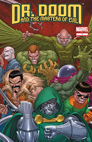 Doctor Doom and the Masters of Evil (2009) #1 (of 4)